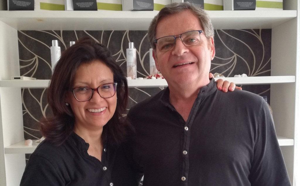 Claudia Nieva e Roberto Rodeghiero